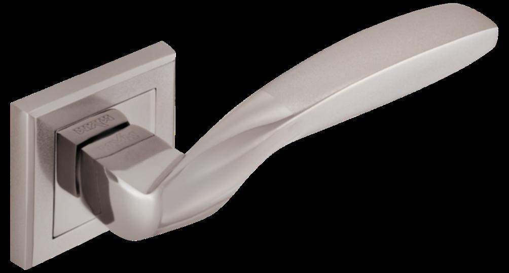 Дверні ручки MVM Teza Z-1325 BN/SBN чорний нікель