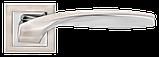 Дверні ручки MVM Teza Z-1325 SN/CP матовий нікель/хром, фото 2