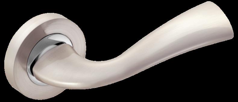 Ручка MVM Tango Z-1259 SN/CP матовий нікель/хром