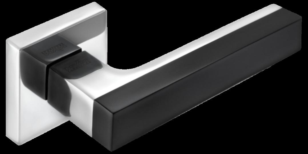 Дверні ручки MVM Z-1410 BLACK/CP