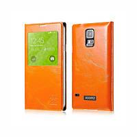 Чехол Xoomz для Samsung Galaxy S5 Original Oil Wax Leather Orange (side-open) (XSI96006Or)
