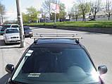 Кенгуру Комбі Аеро 120см - універсальний багажник на дах для авто зі штатними місцями, фото 3