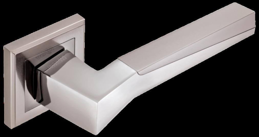 Дверні ручки MVM Neo Z-1319 BN/SBN чорний нікель