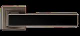 Дверні ручки MVM A-2015 MA+Black, фото 2