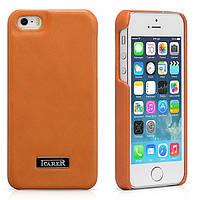 Чехол iCarer для iPhone 5/5S/5SE  Luxury Orange (RIP516Or)