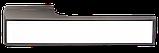 Дверні ручки MVM Z-1440 MA+White матовий антрацит, фото 2