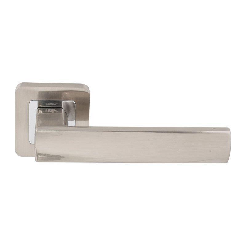 Дверні ручки RDA Cube хром/матовый никель
