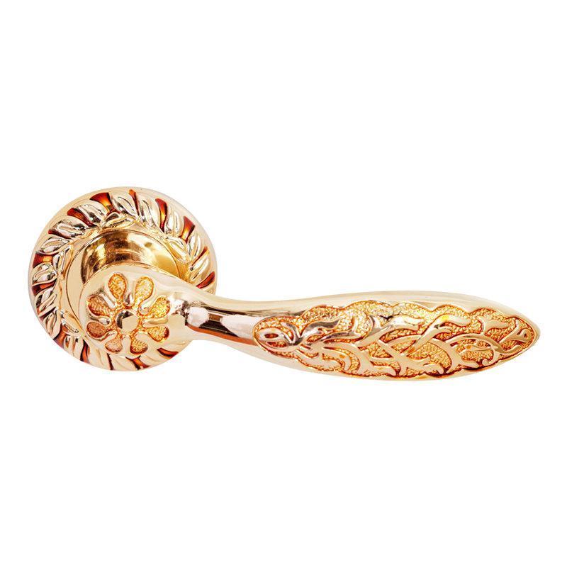 Дверні ручки RDA Ferrara золото барокко