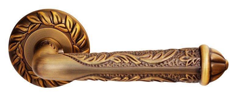 Дверні ручки RDA Napoli матова бронза