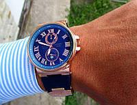 ЖИВЫЕ ФОТО Наручные мужские часы Ulysse Nardin под Rolex Tissot кварц