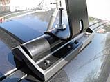 Кенгуру Комбі Аеро 120см - універсальний багажник на дах для авто зі штатними місцями, фото 6