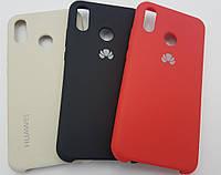 Чехол накладка Silicone case Huawei P20 lite