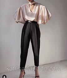 Женские стильные идеальные брюки-бананы для создания осенних образом (в расцветках)