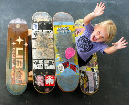 Скейтборд уносит в мечту
