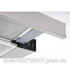 Кухонная вытяжка GARDA 50 INOX (700) slim VentoLux, фото 2