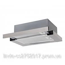 Кухонная вытяжка GARDA 50 INOX (700) slim VentoLux, фото 3