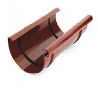 Муфта желоба 125 коричневый, фото 2
