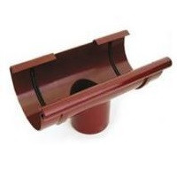 Воронка сливная 125/90 коричневый