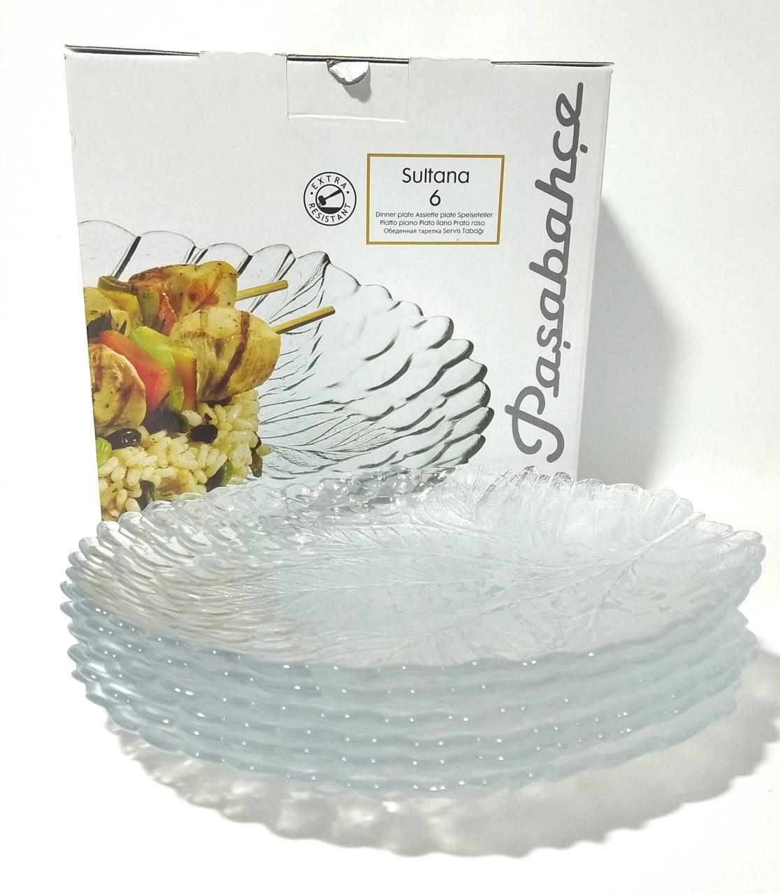 Набор тарелок PASABAHCE Sultana 10288 240 мм 6 шт
