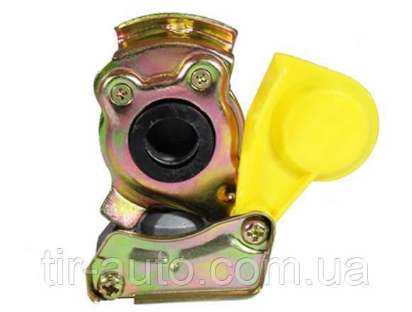 Головка воздушная соединительная без клапана M16x1.5 желтая SCANIA ( SORL )