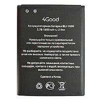 Аккумулятор 4Good BLi-1600. Батарея 4Good BLi-1600 (1600 mAh) для S450m 4G. Original АКБ (новая)