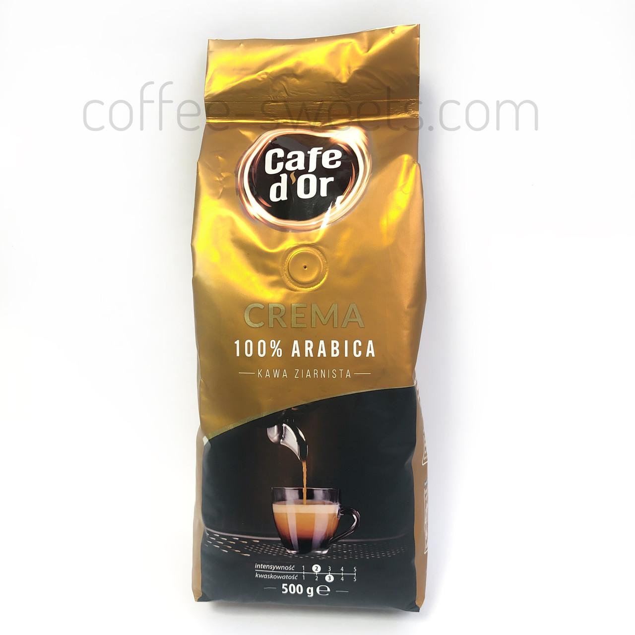 Кофе зерновой Cafe d'Or Crema 500 гр
