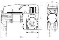 DoorHan Shaft-50 комплект автоматики для промышленных секционных ворот, фото 10