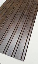 Профнастил з малюнком дерево ВЕНГЕ, розмір листа 1,5мХ1,16м, фото 2
