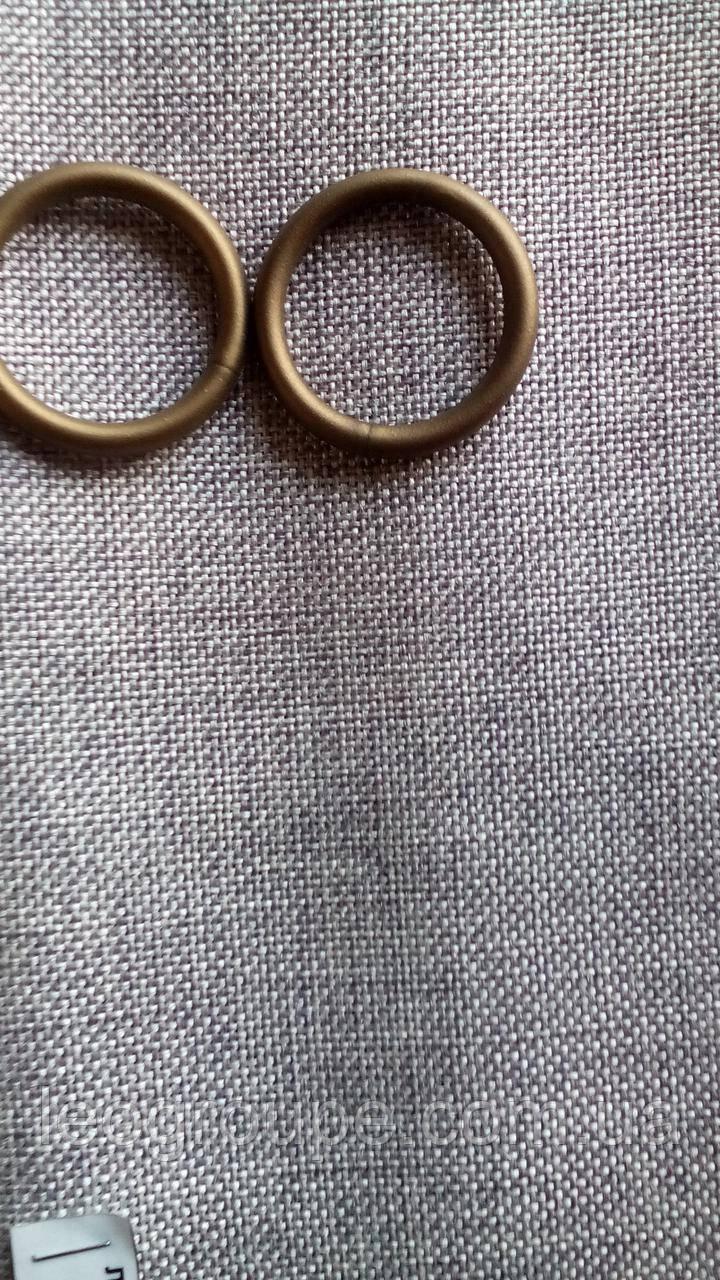 Кольцо 27 мм пластик антик(сатин)