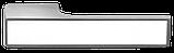 Дверні ручки MVM Z-1440 MOC+White, фото 2