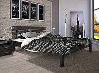 Кровать двуспальная ТИС Домино 3 бук лак