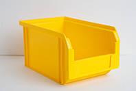 Ящик 701 для хранения метизов желтый 230х145х125мм