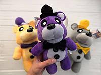 Мягкая игрушка Пять ночей с Фредди, FNaF - Мишка Фредди 30см (фиолетовый)