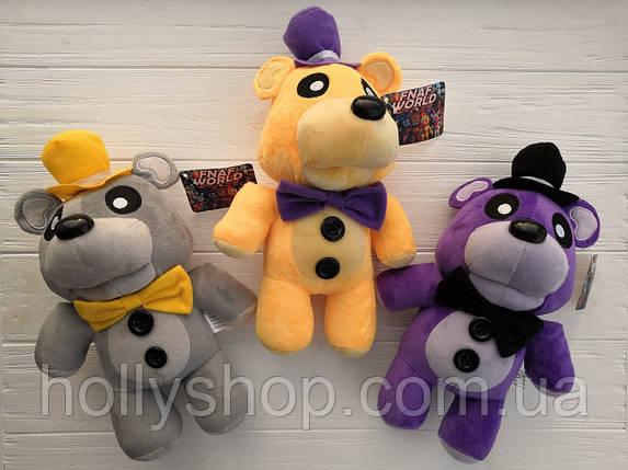 Мягкая игрушка Пять ночей с Фредди, FNaF - Мишка Фредди 30см (фиолетовый), фото 2