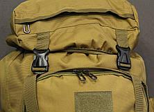 Тактический (туристический) рюкзак  на 70 литров Coyote (ta70 песок), фото 3