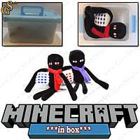 """Рождественский Эндермен из Minecraft - """"Christmas Ender"""" - в пластиковом боксе!"""