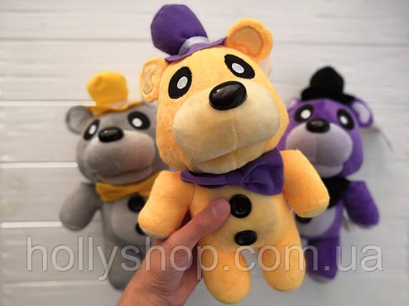 Мягкая игрушка Пять ночей с Фредди, FNaF - Мишка Фредди 30см (Golden Freddy, золотой), фото 2