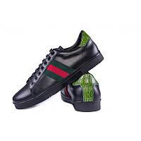 Кроссовки Gucci ( 125375 BLACK GREEN)