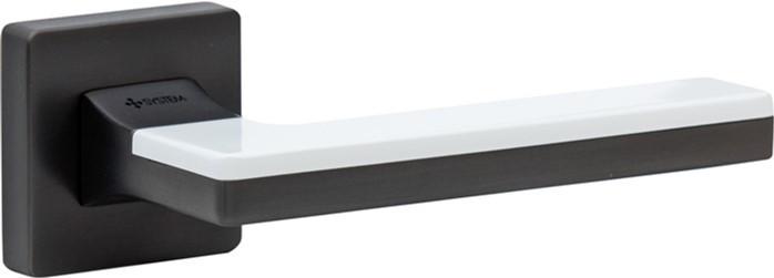 Ручка System Larissa BBN-BBN/AL7 (чорний нікель/ білий глянець)