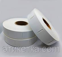 Бирки картонные в рулоне (25x40 мм, 1000шт)
