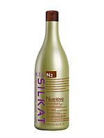 Питательный БАЛЬЗАМ  для сухих, обесцвеченных и ломких волос SILKAT NUTRITIVO N2  1000 мл