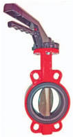 Дисковый затвор WAFER [W] DN 32 межфланцевый поворотный Xurox Испания