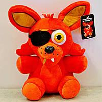 Мягкая игрушка Пять ночей с Фредди, FNaF - Foxy Фокси 25см