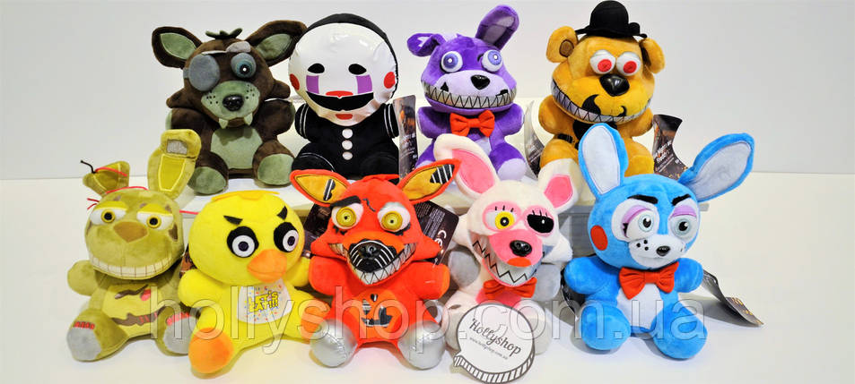 Мягкая игрушка Пять ночей с Фредди, FNaF - Foxy Фокси 25см, фото 2