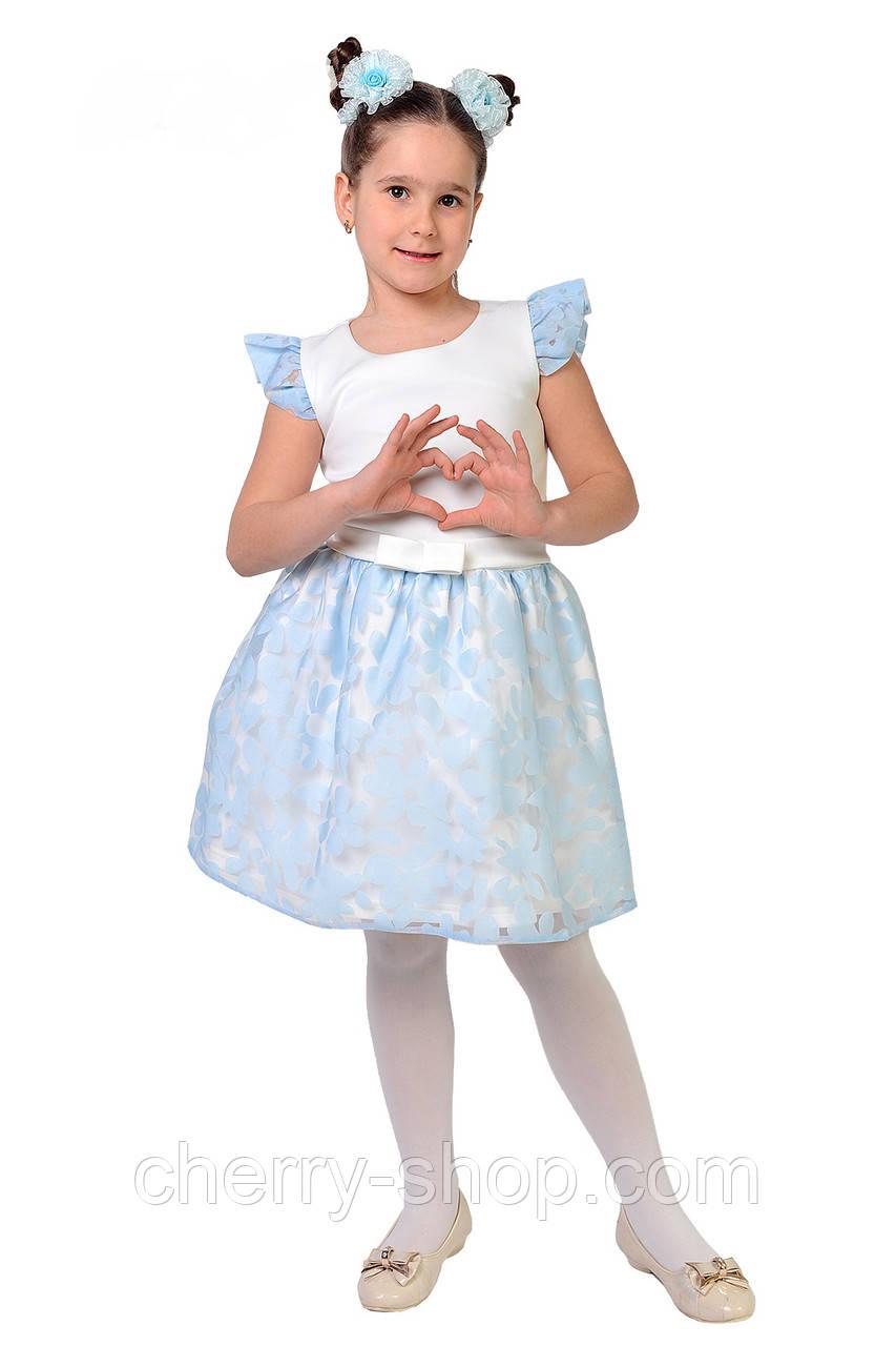 Красивое, модное, очень яркое платье для девочки