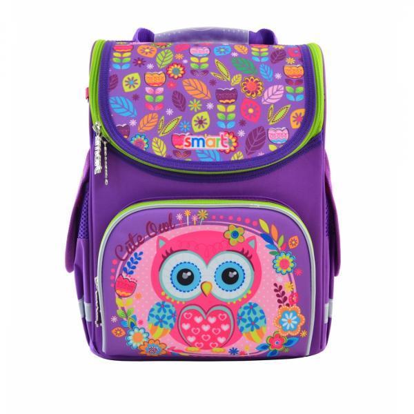 555896 Яркий каркасный рюкзак Smart PG-11 Little Owl  26*34*14