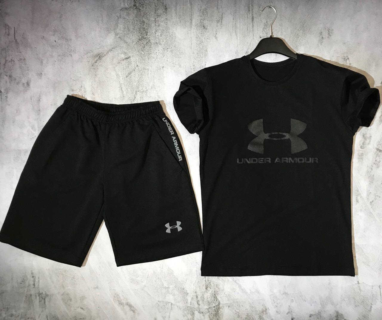 Мужской спортивный костюм (футболка и шорты) Under Armour The Dark Knight