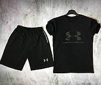 Мужской спортивный костюм (футболка и шорты) Under Armour The Dark Knight, фото 1