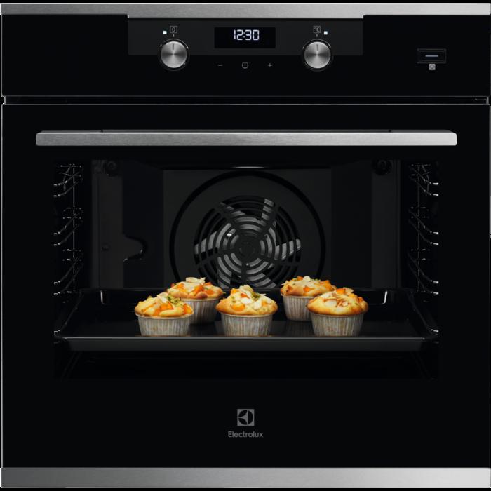 Встраиваемая духовка с функцией паровой печи Electrolux KODEH70X