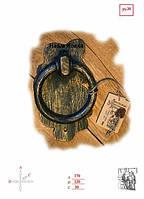 Дверная накладка - стукало